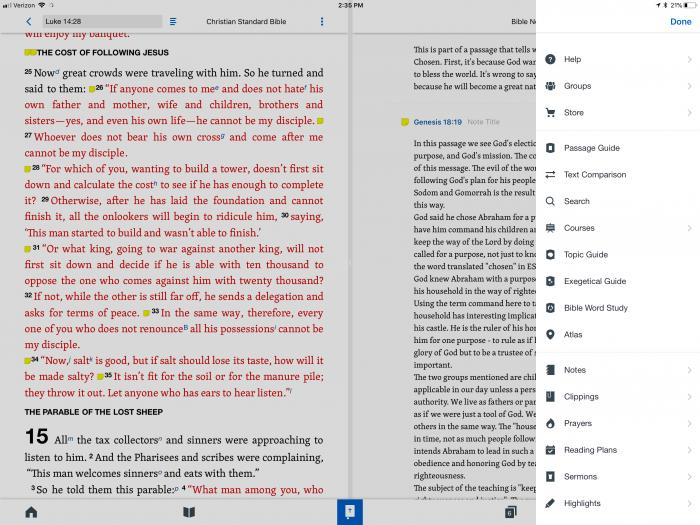 5 Best iPad Bible Study Apps