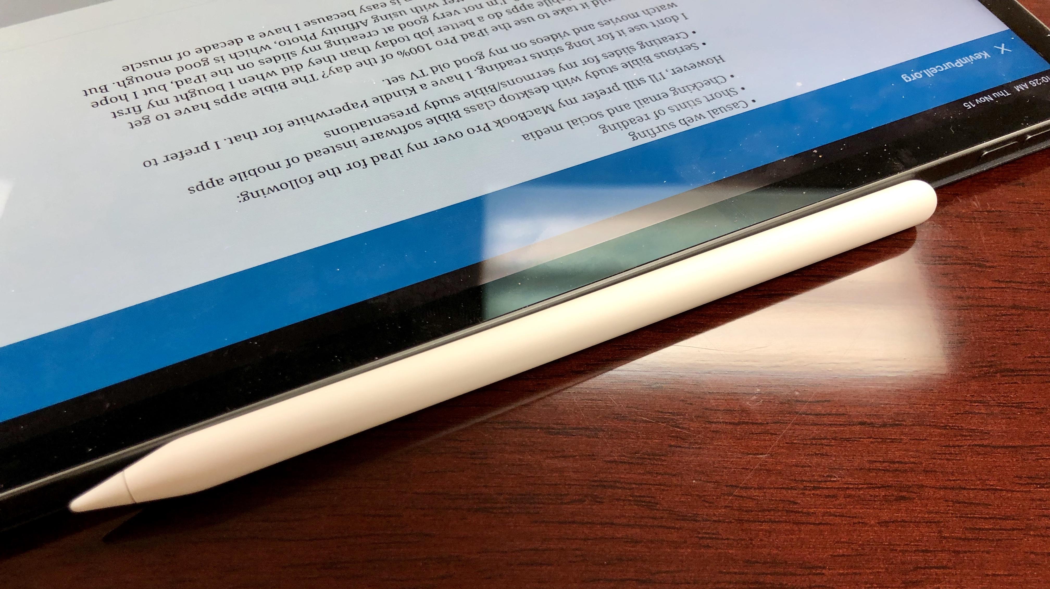 New 2018 Apple iPad Pro for Bible Study