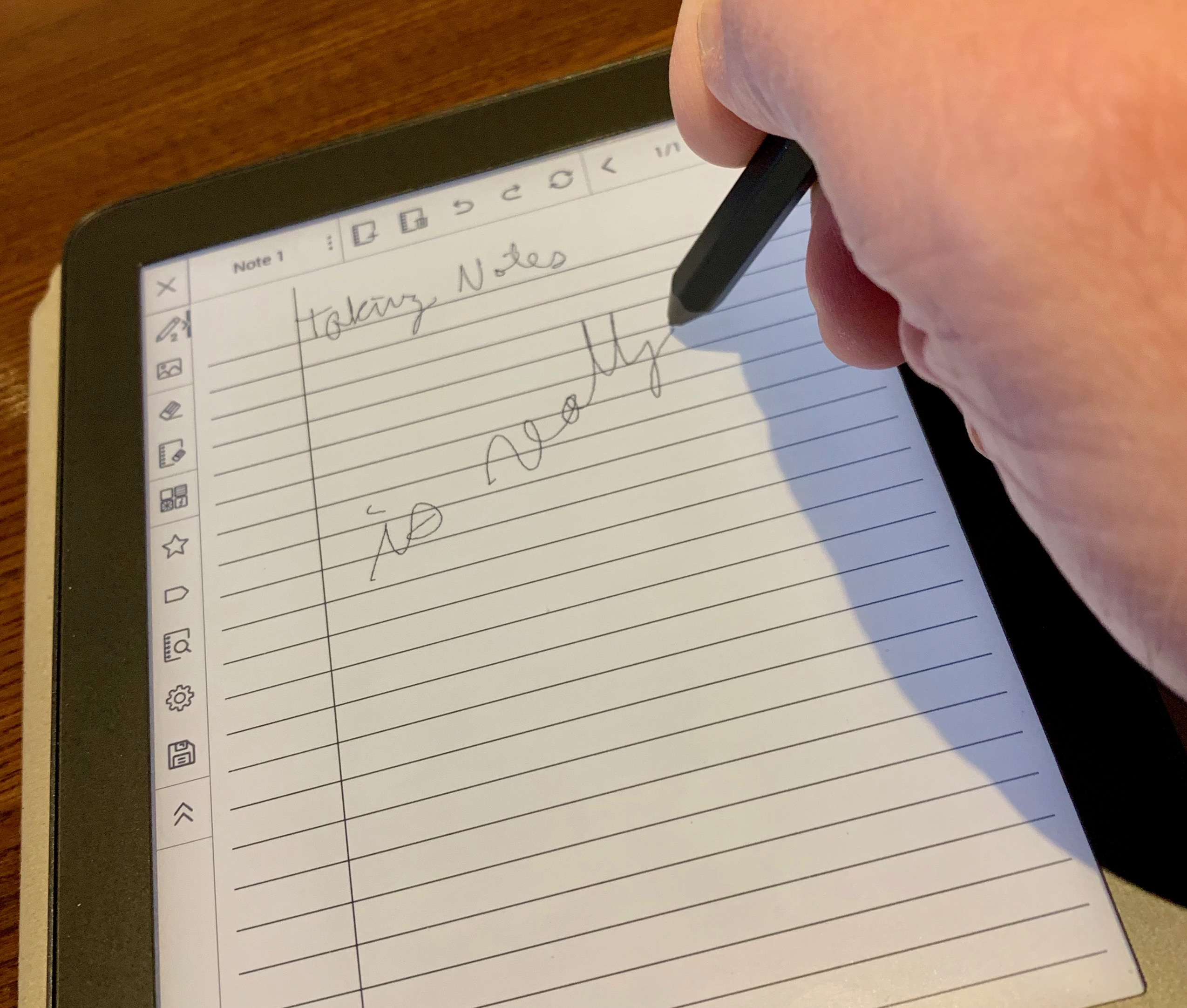 MobiScribe Notepad review Stylus